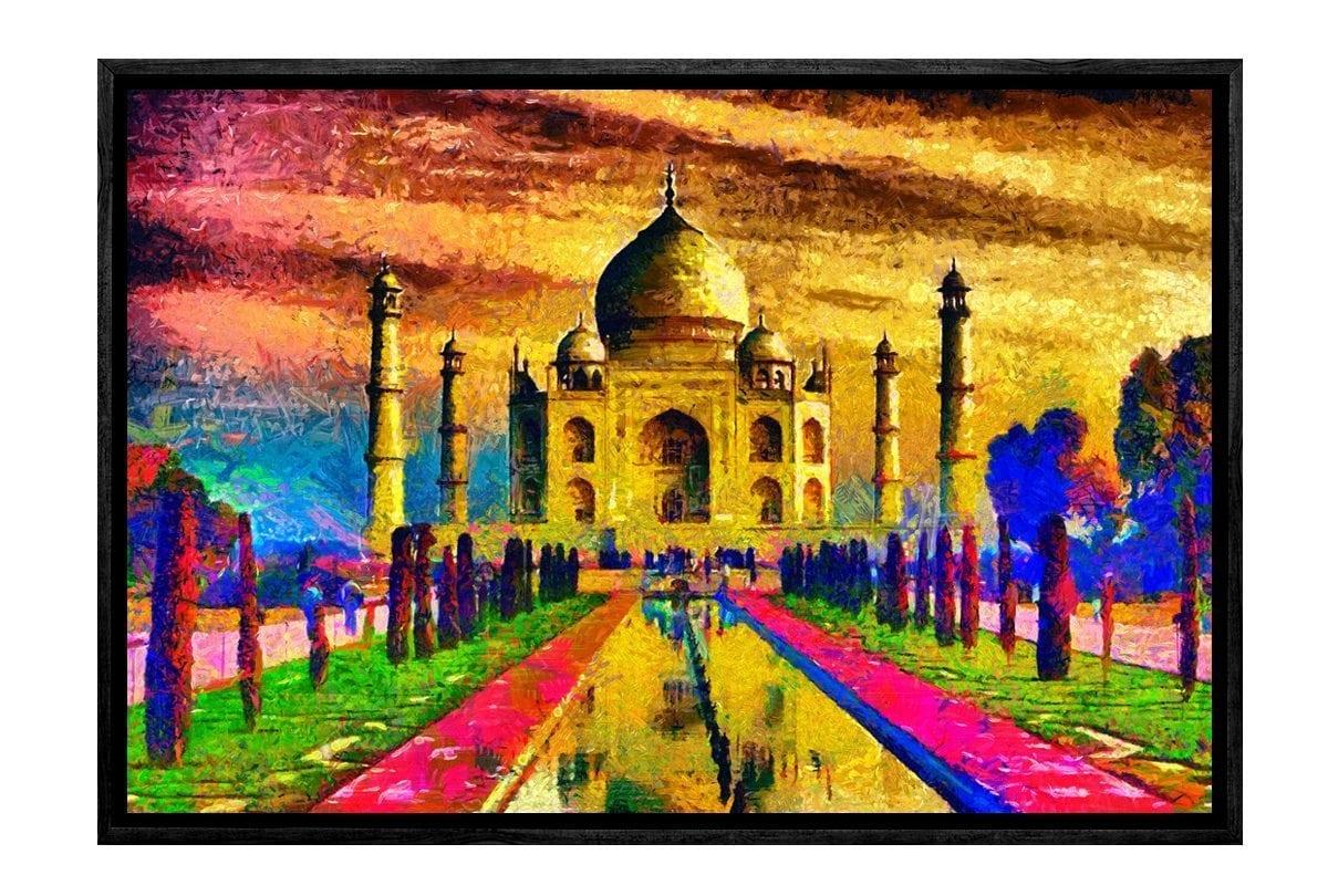 Buy Taj Mahal | Canvas Art Print Online Australia | Final Touch Decor