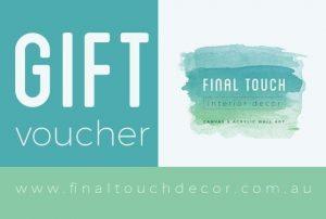 Final Touch Decor Gift Voucher