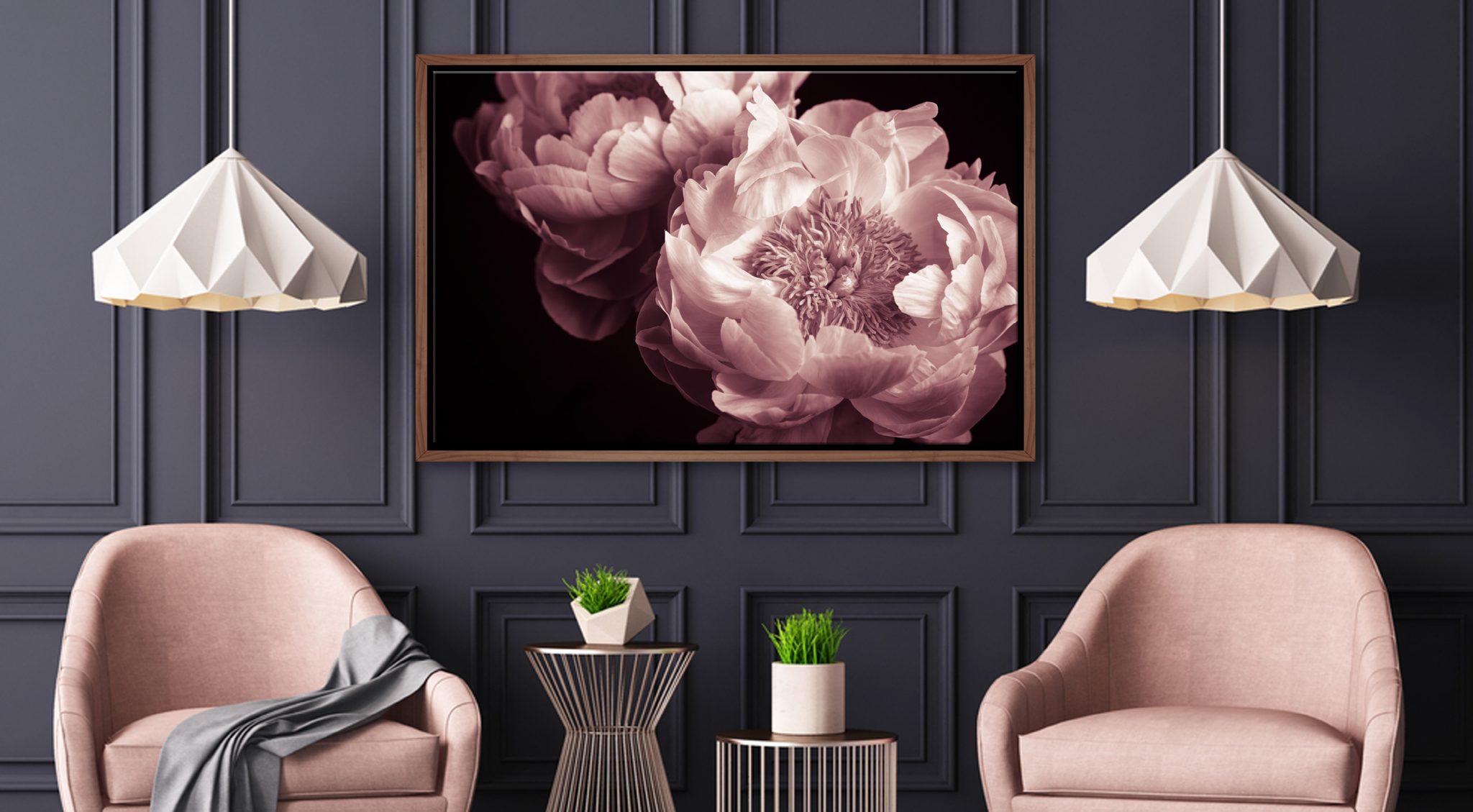 Floral Wall Art Australia Flower Canvas Framed Prints Final Touch Decor