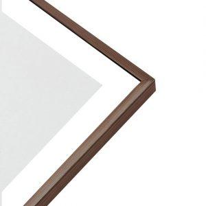 Art Print - Dark Wood Frame
