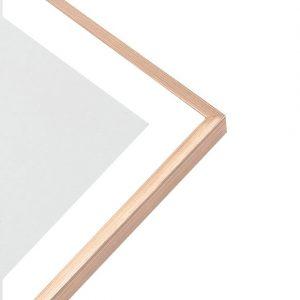 Art Print - Light Wood Frame
