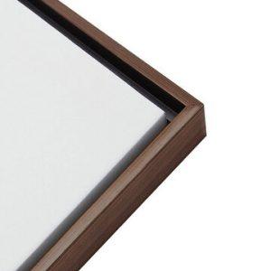 Framed Canvas - Wood Grain