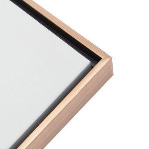 Framed Canvas - Light Wood
