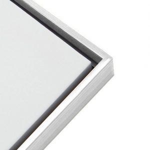 Framed Canvas - White